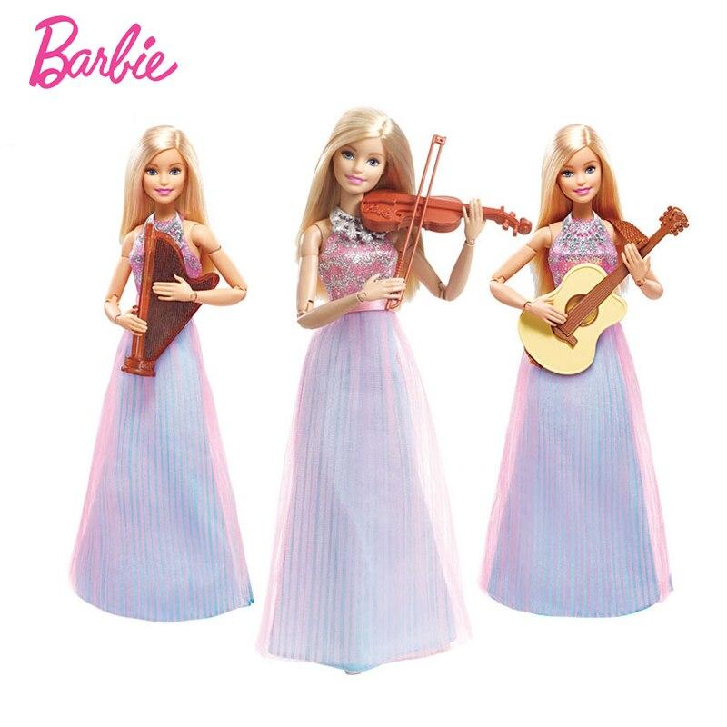 barbie s koňmi - Barbie Doll  Violin-Refresh Toys Christmas Present For Girls  Violinist Best Gift For Birthday Present DLG94