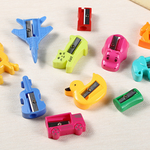 Newest Mini Kawaii Funny Owl Pencil Sharpener Desktop Stationery School Student style 16pcs a lot Random Color for sale