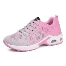 new concept 26ef6 0ff83 2018 zapatos de mujer primavera otoño nuevos zapatos deportivos de Mujer  Zapatos de caminar transpirables Sapatilhas