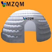 MZQM L5XW5XH3 m Advertising Color Changing LED Lighting Inflatable Dome Tent Igloo Tent with shell shape toy tent