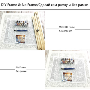 Image 5 - YANXIN DIY Painting By Numbers Frame Flowers Pictures Full Kits Acrylic Paint On Canvas Home Decor Pictures RSB8169