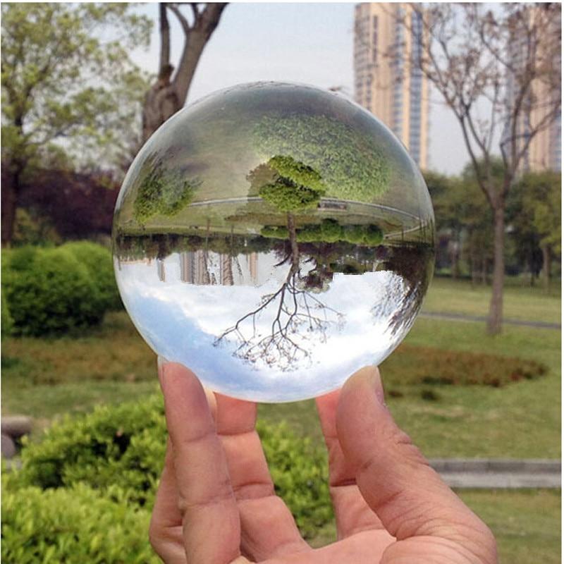 Compra bola de cuarzo transparente online al por mayor de for Mesa cristal heaven