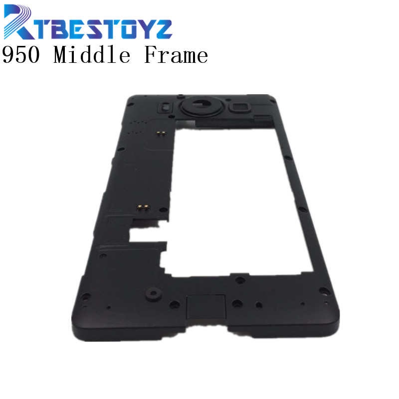 RTBESTOYZ RTBESTOYZ Middle Frame for nokia <font><b>950</b></font> Bezel Middle Frame Housing Frame Replacement Repair Spare <font><b>Parts</b></font> for nokia <font><b>950</b></font> image