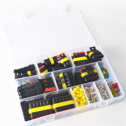Free shipping 240 Pcs Superseal AMP/Tyco Waterproof 12V Electrical Connectors Kit 1/2/3/4/5/6 Way Pin