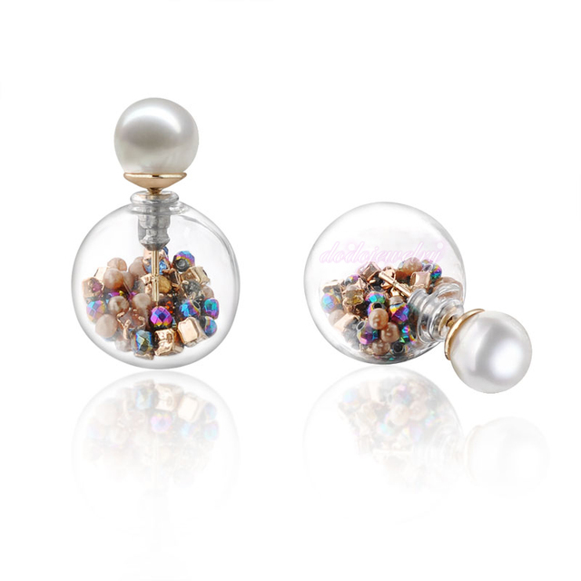 New Arrival Unusual Earrings Stud Pearl Small Beads Earring Hot Love Jewelry For Women