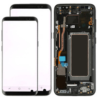 Original S8 Display For Samsung Galaxy S8 Screen Replacement Small Spot S8 G950f LCD S8 Plus G955f LCD With Frame Assembly