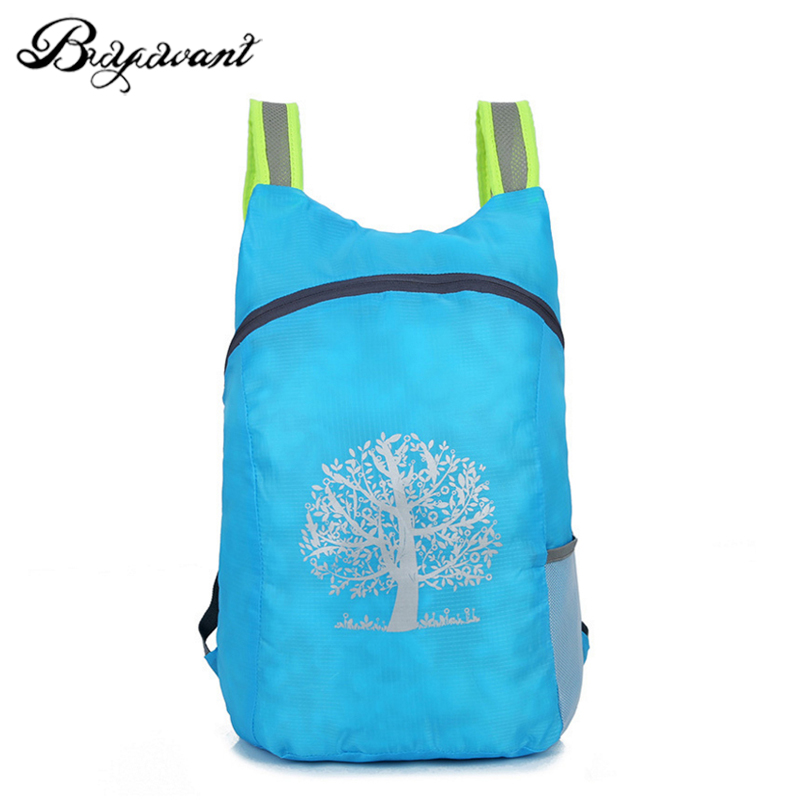 320ab307afa3 Buyuwant Nylon backpack BW05-BP-ertsjzd folding light weight travel  backpack couple Casual bag waterproof tear resistant
