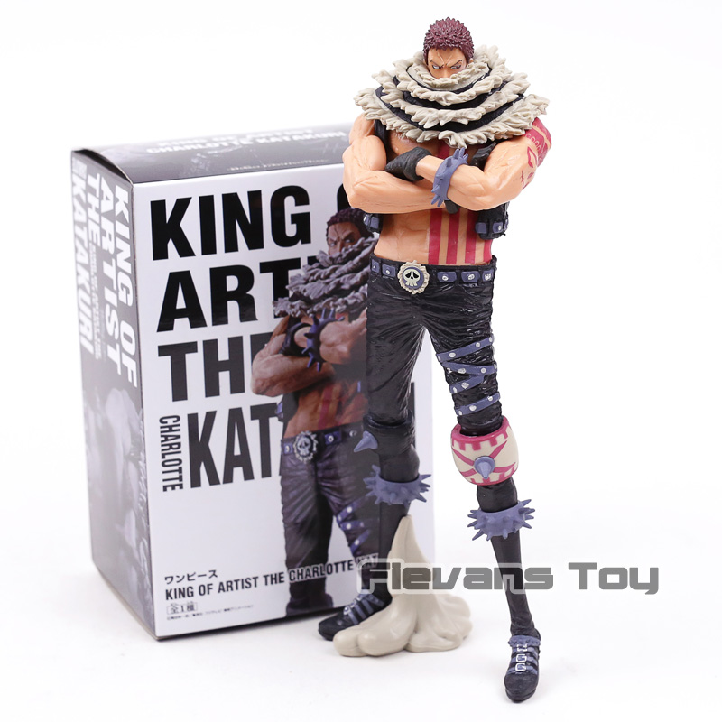 Anime One Piece KOA King Of Artist Charlotte Katakuri Action Toy Doll Brinquedos Figurals Collection OP Model Gift image