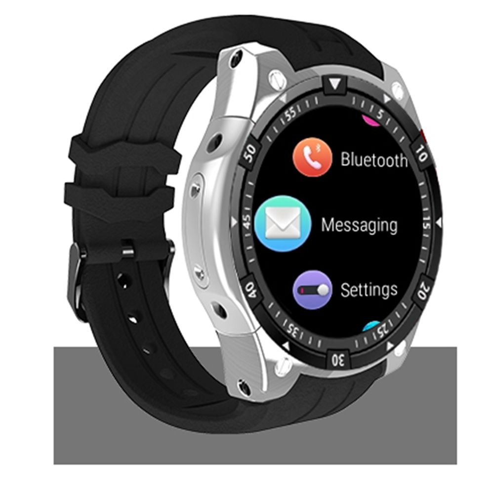 SMARCENT <font><b>X100</b></font> smart watch Android 5.1 OS Bracelet <font><b>Smartwatch</b></font> MTK6580 1.3