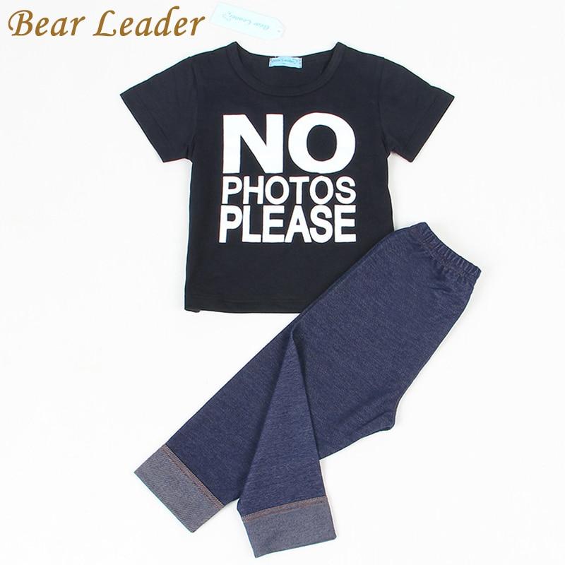 Bear-Leader-Baby-Clothing-Sets-2016-Summer-Style-Baby-Girls-Boys-Clothes-Black-Letter-T-shirtImitation-cowboy-pants-2pcs-suit-1