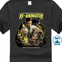 8b94d587a Re Animator Classic Cult Zombie Movie S M L Xl 2 3Xl T Shirt Horror Comedy  Film(