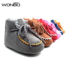 00ed1efb2 Zapatos de bebé Toder cuna algodón suave suela niños niñas Niño Zapatos de  bebé de 0 a 18 meses Claret Azul Marino azul rosa gri.