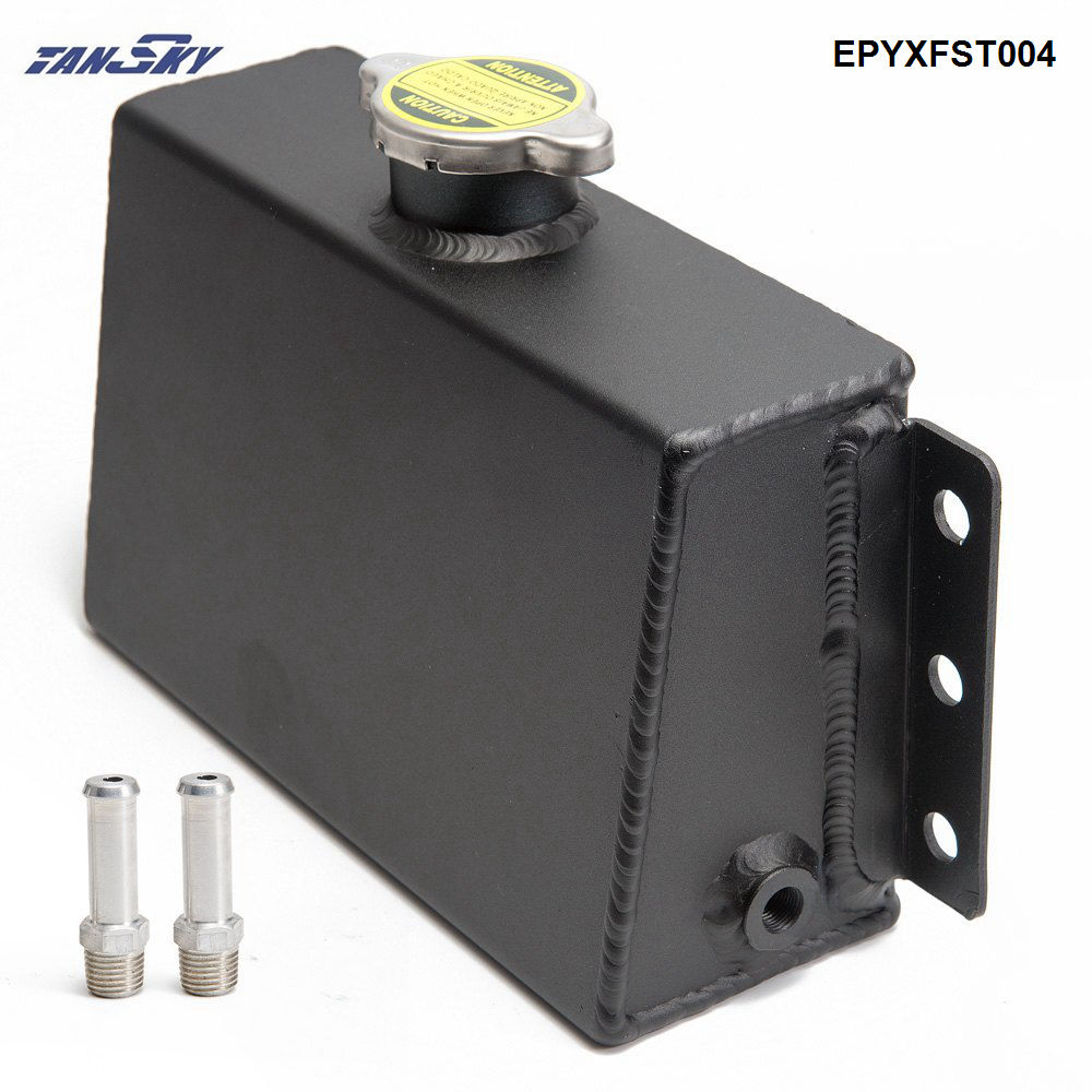Universal Coolant Expansion Fill Tank Overflow Reservoir Aluminum Oil Catch Tank EPYXFST004