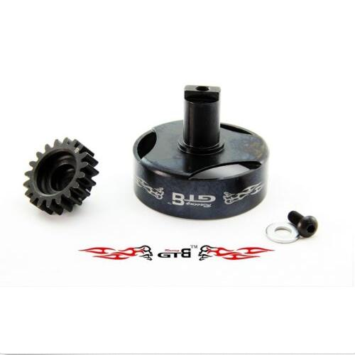 1 5 rc car gas GTB Racing metal Clutch Bell with 19T for Losi 5ive T