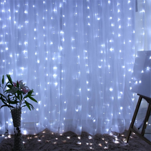 Navidad 2019 Christmas Curtain Lights 3M X 300 LED Light Natale Kerst New Year Lamp Decorations for Home Natal,Q