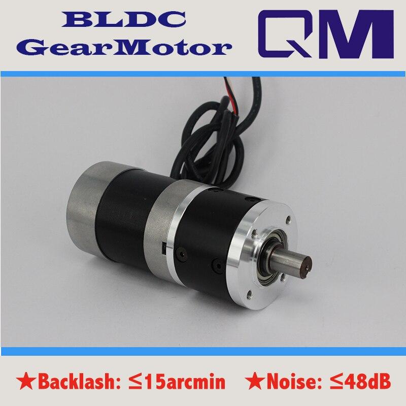 ФОТО  DC  motor nema 23 100W gear brushless dc motor bldc motor  planetary  gearbox ratio 5:1