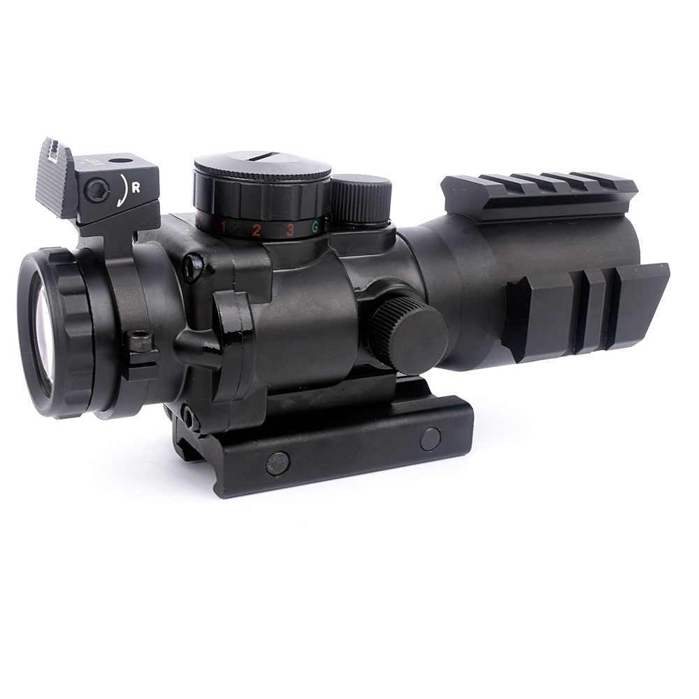 ويبسون 4x32 كود Riflescope 20 مللي متر تتوافق منعكس البصريات نطاق التكتيكية البصر ل airgun بندقية قنص تعمل بالهواء المضغوط المكبر الهواء لينة