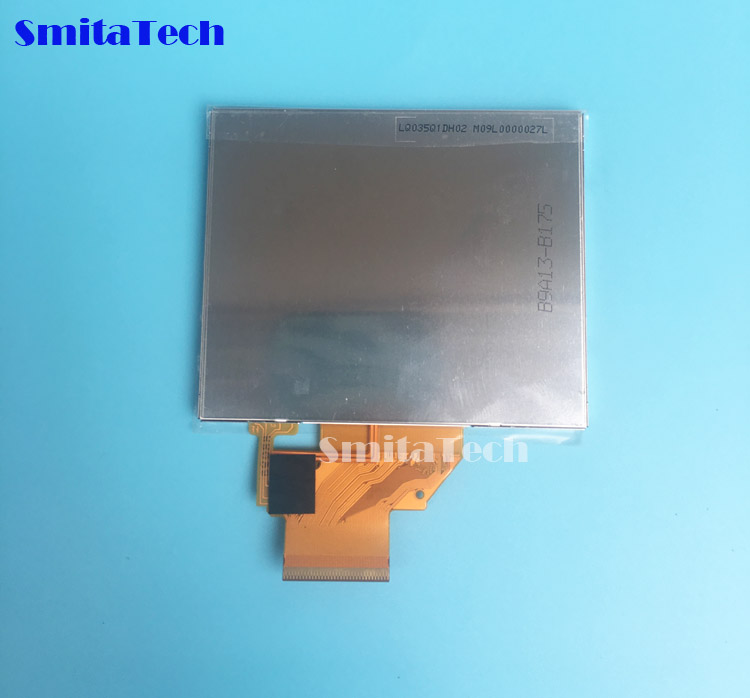 3.5'' inch LQ035Q1DH02 LCD screen for Garmin nuvi 255T 260 275 1200 500 510 215 LCD display Screen with Touch screen digitizer(China)