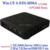 N380 RDP nuage terminal avec 2 COM embeded WIN. CE 6.0 Noir windows et linux support du serveur on peut jusqu'à 100 ou plus les utilisateurs