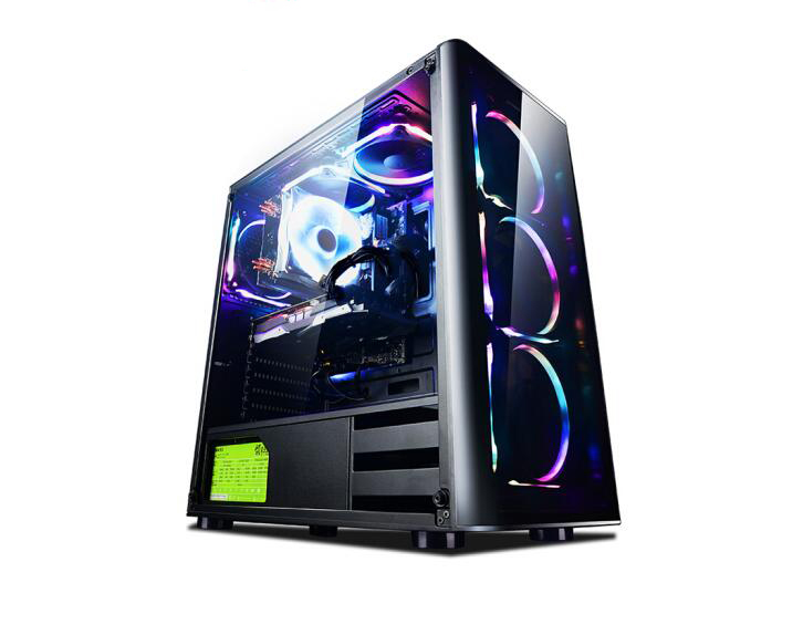 RGB Six-core I7 8700/GTX1060/B360/8G Game Desktop Computer Host / DIY Assembly Machine