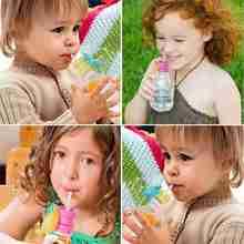 Kids Feeding Bottle Straw Cover