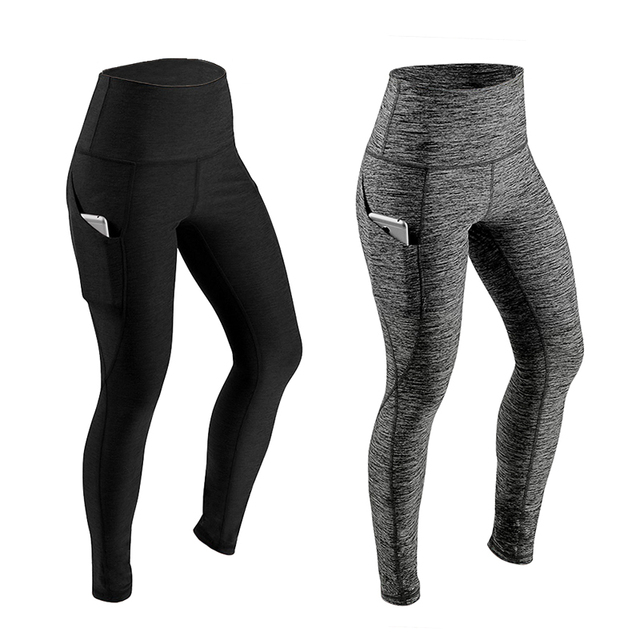 Push Up Leggings Women Fitness Legging High Waist Workout Trousers Pockets Fashion Solid Bodybuilding Jeggings Drop Shipping