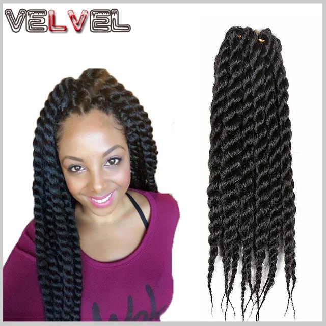 Hot Sell Havana Mambo Twist Crochet Braids Hair 12 Inch Senegalese