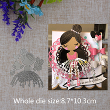 New Design Metal Die Cuts Figure  Cutting Dies For Gift Photo Album Embossing Card Crafts Arrival 2019