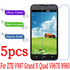 Clear Matte Nano Soft Explosion-proof Screen Protector For ZTE V987 Grand X Quad V967S N980 Screen Film (Not Tempered Glass)
