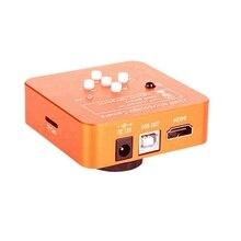 Usb Industry Microscope 21Mp Hdmi C-Mount Industrial Video Camera Set 2K 1080P Hd Video Camera Recorder /Eu Plug