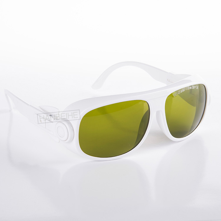 laser safety glasses 190-450 & 800-1700nm O.D 4+ CE Style 1 for 266 355 405 445 450 808 810 830 980 1064 1320 1470nm lasers.