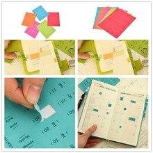 1 клейкий лист простые и практичные наклейки для дневника стикеры s/Липкие заметки/Papeleria/канцелярские товары высокого качества
