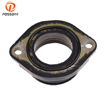 POSSBAY Carburetor Interface Motorcycle Intake Pipe Adapter Joint Manifold Gum Fit for Kawasaki KLX250SF 2009 2010