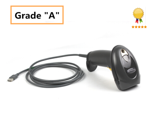 Grade A For Zebra Motorola Symbol LS4208 Barcode Scanner 1D 4208 With USB Cable carprie new 2m 7ft usb cable for barcode scanner honeywell metrologic ms9540 9520 5145 9590 hot 17sep01 dropshipping f