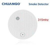 315mhz Chuango SMK 500 Smoke detector smoke fire 85db loud alarm sensor