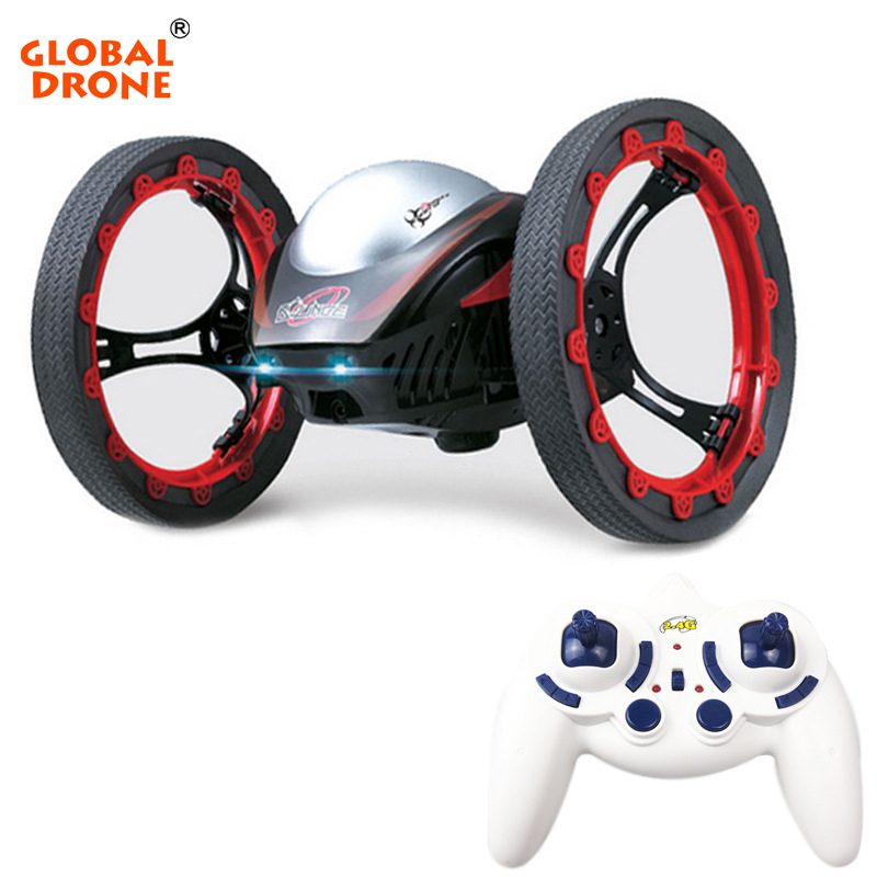Global Drone RC Jumping Sumo Electric Bounce Car Flexible Wheel RC All Terrain Stunt Racing Car Remote Control Toys Gift for Kid цена 2017