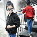 girls jacket baseball jersey kids coats and jackets girl outerwear children cardigan fashion for 3~14 year sping autumn MC135