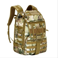X7 CP Ourdoor Men Waterproof Molle Trekking Bag Military 40L Backpack Knapsack Women Assault Bag Packsack Backpack Multicam