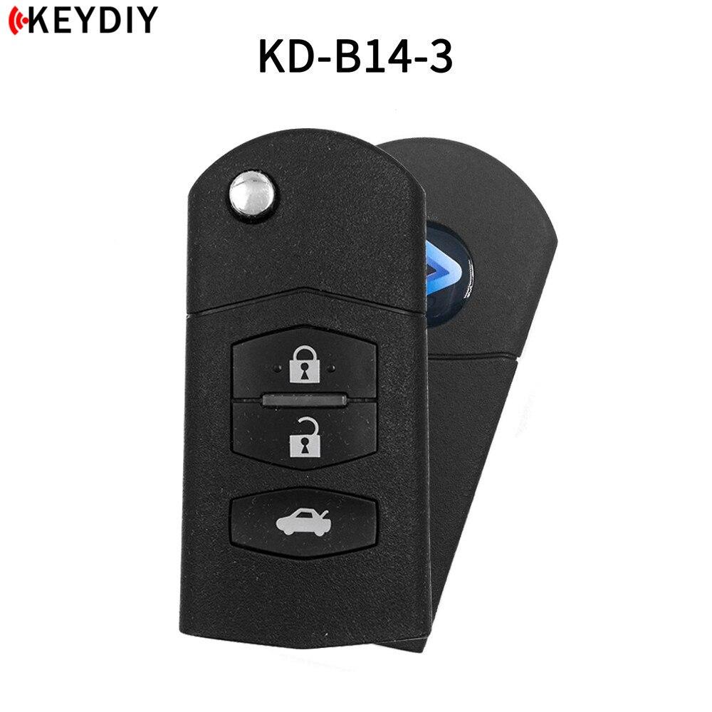KEYDIY KD B14-2/3/4 Car Key For Mazda KD900/KD-X2/KD MINI Key Programmer B Series Remote Control