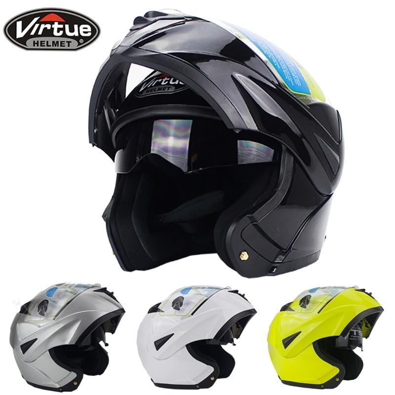 Fashion Design Full Face Racing Helmets flip up motorcycle helmet with inner sun visor DOT