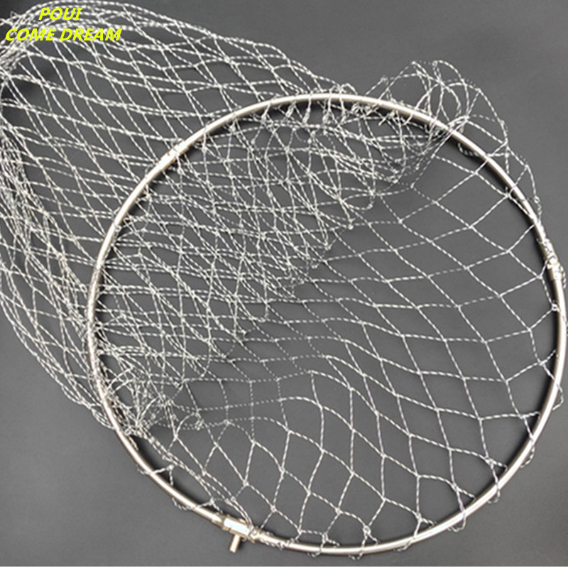 Hand-woven Multifilament Nylon Net For Dip Net Of Head Fishing Network Fishing Tool Outdoor Accessories Fishing Creel Spoon Net Fishing