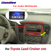 Liandlee Car Android System For Toyota Land Cruiser 100 2003~2007 Radio Stereo Camera GPS Navi MAP Navigation Screen Multimedia