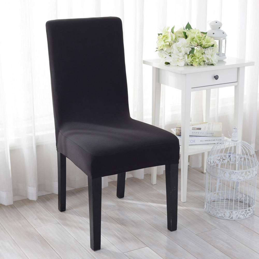 US $3.49 30% OFF|Chair Covers China Dining Room Chairs Protector Slipcover  Spandex Stretch Chair Cover For Hotel Weddings Decoration Party HG0262-in  ...