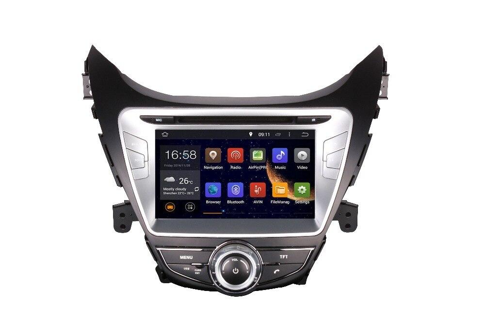 2019 8 дюймов 4 аппарат не привязан к оператору сотовой связи Android 8,1 ips quad core Автомобильный мультимедийный DVD плеер радио gps для HYUNDAI ELANTRA/AVANTE MD I35