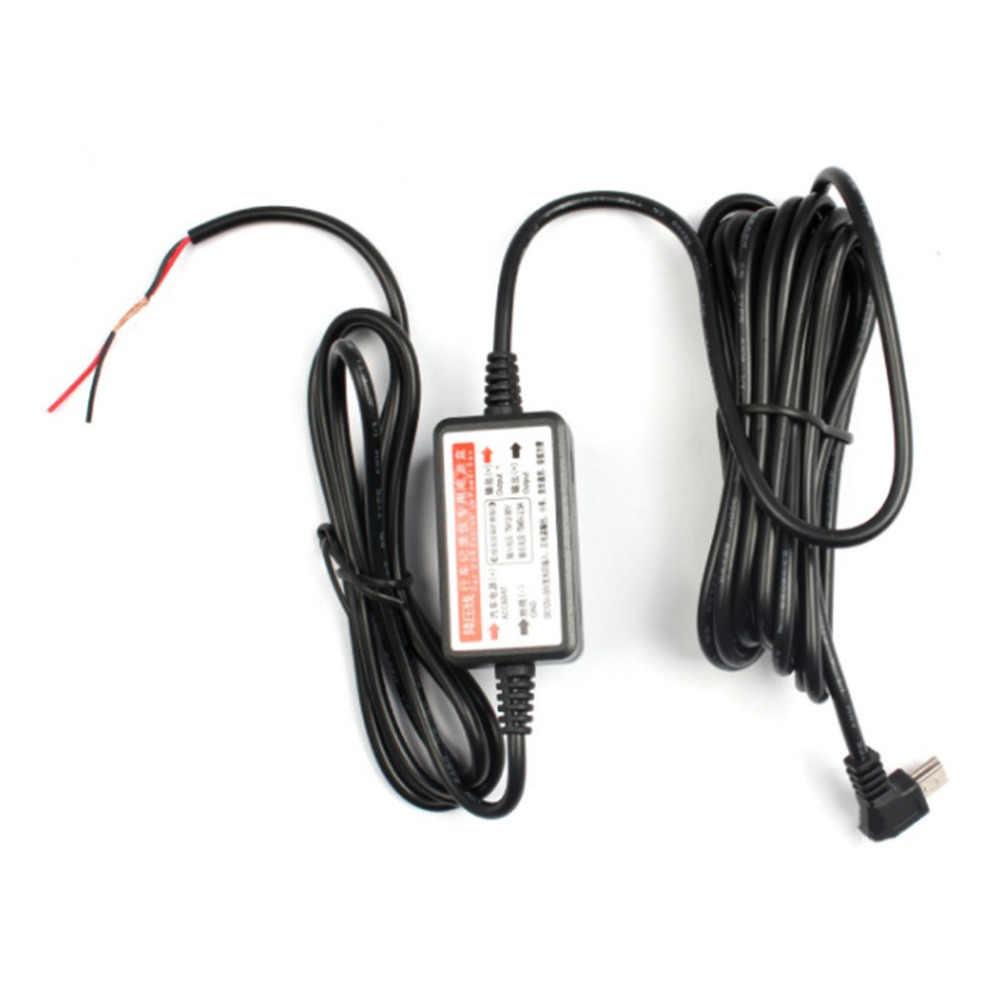 أشدها 12 فولت-24 فولت إلى 5 فولت جهاز تسجيل فيديو رقمي للسيارات صندوق امدادات الطاقة أسود البلاستيك مخصص سيارة السفر مسجل بيانات شاحن تنحى وحدة