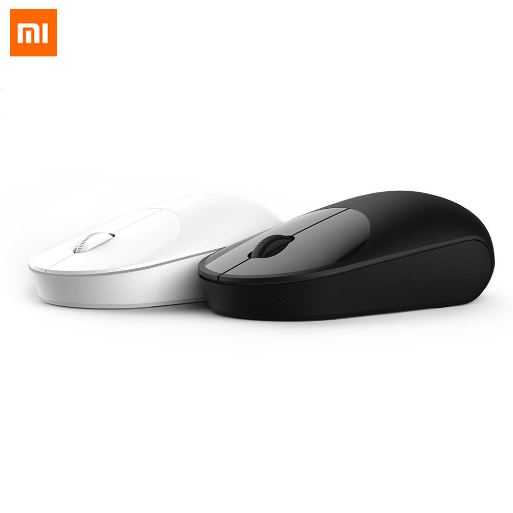Original Xiaomi Wireless Mouse Youth Edition Portable Mi Mouses ABS Material 2.4GHz WiFi Control Connect 1200Dpi LightWeight Bod