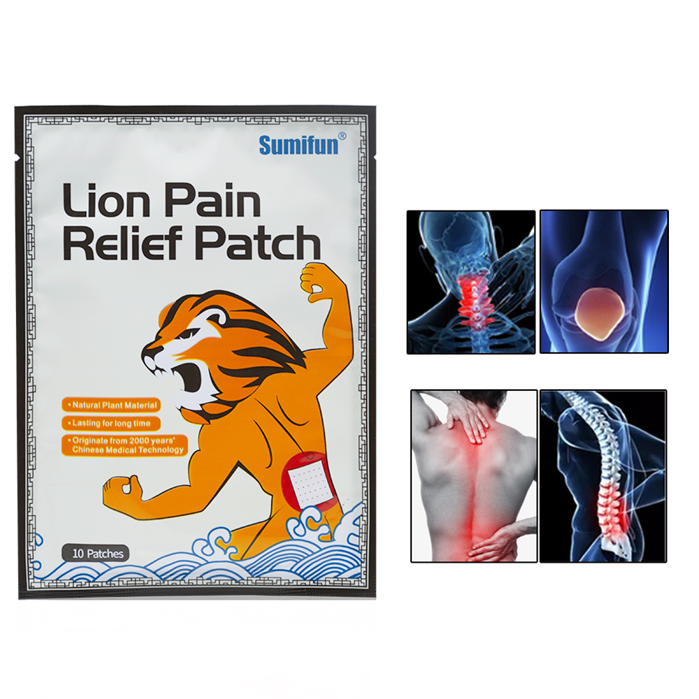 100pcs = 10bags Сөмкелер Joint Ache Magnet Pain Patches - Денсаулық сақтау - фото 1