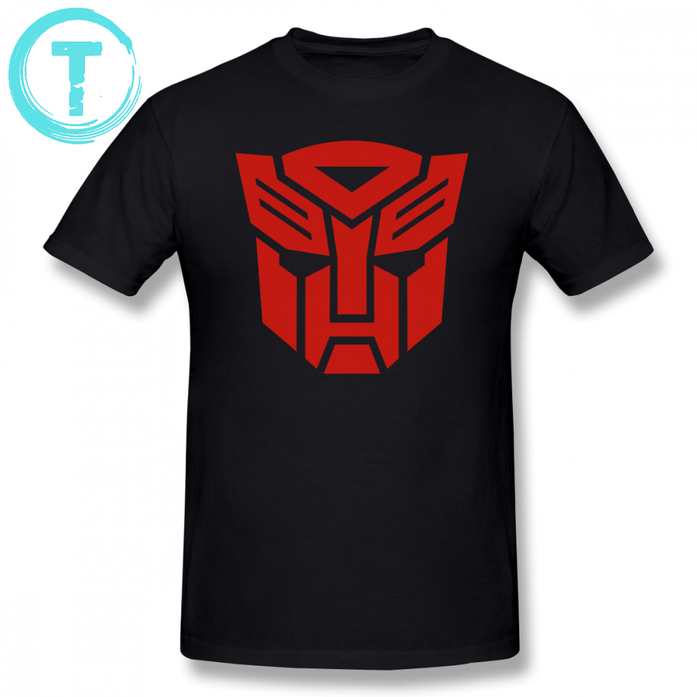 Optimus T Shirt Autobot T-Shirt Short Sleeves Graphic Tee Shirt Basic Fun Men 100 Cotton 6xl Tshirt
