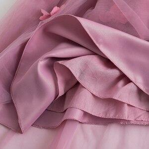 Image 5 - Cielarko ילדי ארוך נסיכת שמלת 2019 חדש ילד בנות חתונה יום הולדת פורמליות המפלגה שמלת כדור שמלה סגול לבן 2  11 שנים