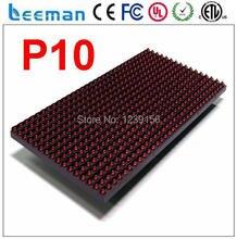 Leeman СВЕТОДИОДНЫЙ матричный P10 крытый красный щит — P10 RGB color открытый рекламное сообщение светодиодные панели